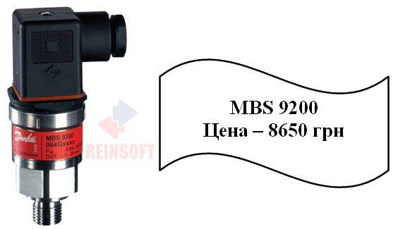 Аналоговые преобразователи  давления MBS 9200