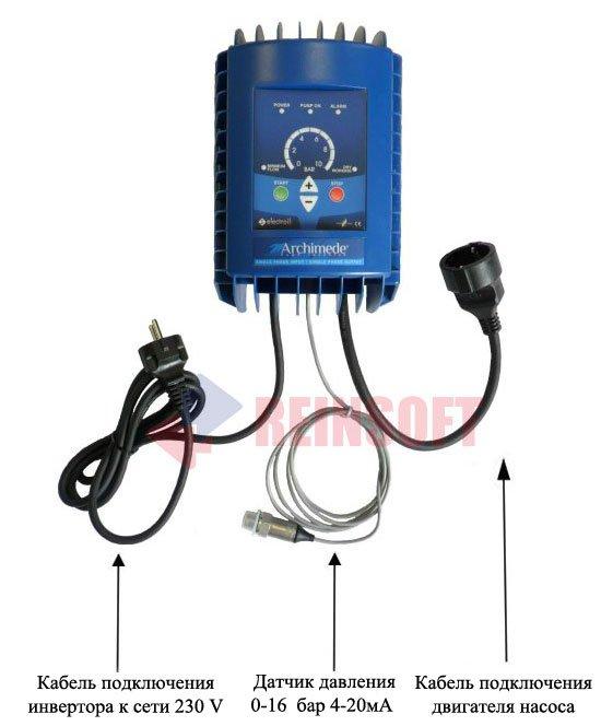 Однофазные частотные преобразователи  Electroil Archimede IMMP (Архимед) фото