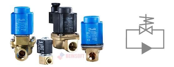 Двухходовые клапаны прямого действия для закрытых систем без перепада давления.