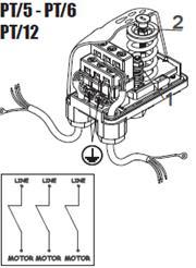 Реле давления PT5, PT6, PT12 фото