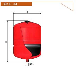 Расширительные баки Elbi ER-CE 5л