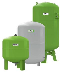 гидроаккумуляторы для систем водоснабжения Reflex-Refix